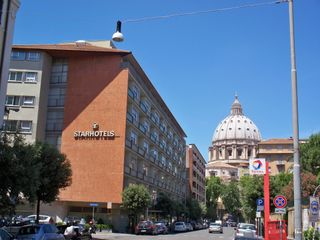 My hotel in Rome, right next to the Vatican.