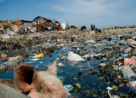 Haitian-slum